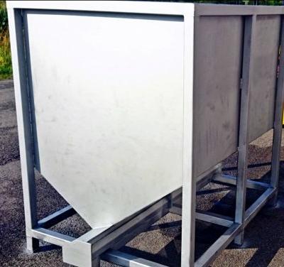 Sandbehälter inklusive Förderungssystem