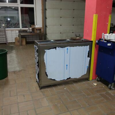 Müllkontainer Box